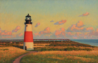 Sankaty Head Lighthouse, Malcom Hughes